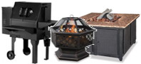 Grills, Fire Pits and Tables